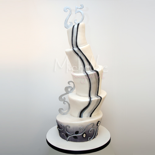 5 Tier Wedding Cake 5 Tier Wedding Cake