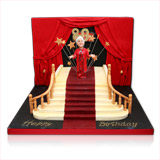 Hollywood Wedding Cake